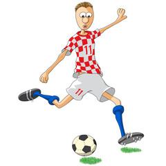 Calciatore Croazia