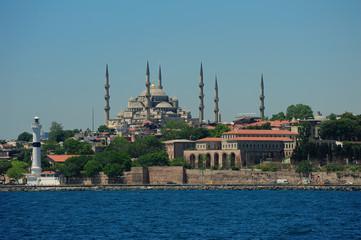 Blue Mosque-Sultanahmet Cami Istanbul-Turkey