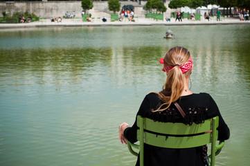 détente jardin des tuileries