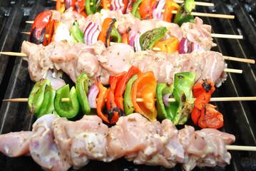 Healthy Chicken Kabobs