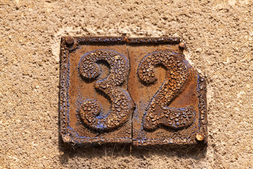 House number 32