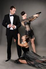 agent bond style