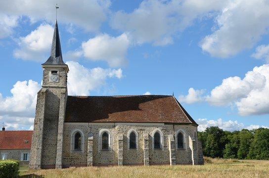 Eglise de Pézarches en Seine-et-Marne