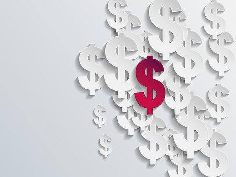 Dollar sign background