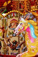 carousel merry-go-round horses ride horse ride funfair