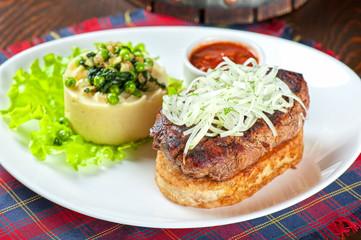 Gourmet steak meat