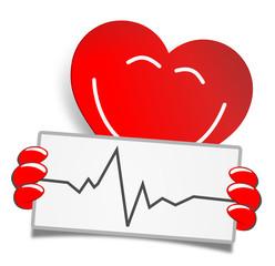 Herz Schild Puls
