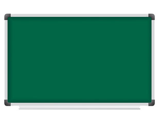 plastic school board for writing with chalk vector illustration