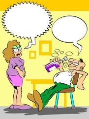 Drunken husband