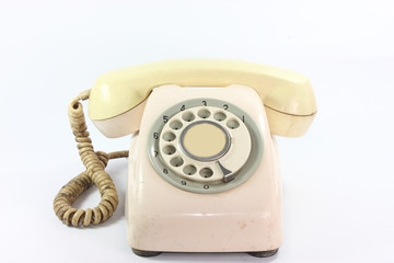An old telephone dail