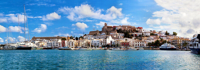 Wall Mural - Panorama of Ibiza, Spain