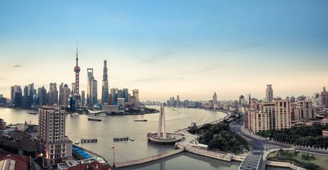 Aluminium Prints Shanghai shanghai panorama