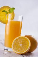 Deurstickers Opspattend water Juice