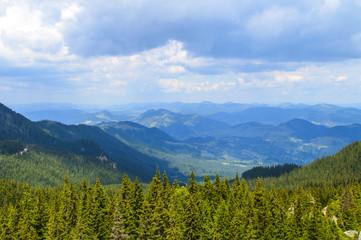Fototapeten Gebirge Alpine zone