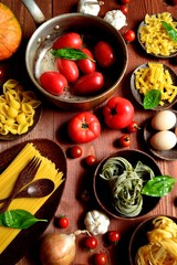 Pastas and Tomatoes