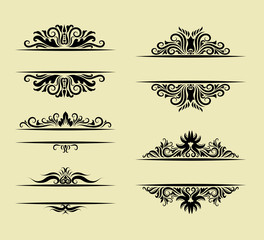 Invitation Label Element Ornament Decoration