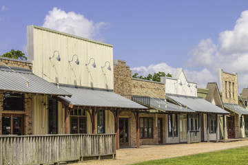 Rural Western Style Shops