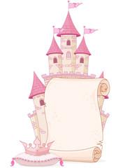 Canvas Prints Fairytale World Fairy tale theme parchment