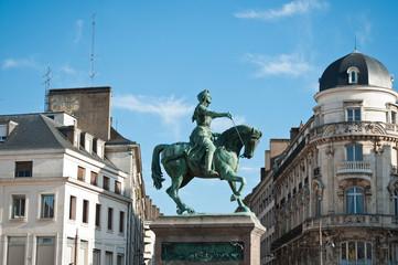 Statue Jeanne d' Arc à Orléans