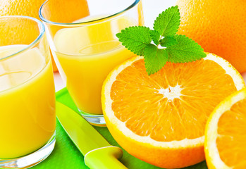 Fototapeta Orangensaft obraz