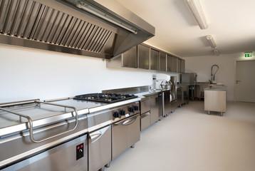 Professional kitchen in modern building