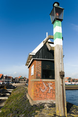 the port of Volendam. Netherlands
