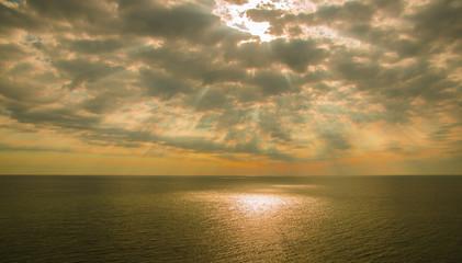 Sunrise at Black Sea, Bulgaria wallpaper Seascape