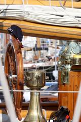 détails de vieux voiliers