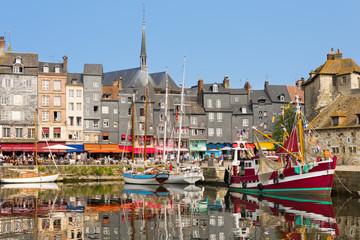 Honfleur harbour Fototapete