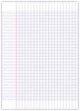 Feuille enti re de papier millim tr fichier vectoriel for Feuille simple grand carreaux