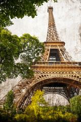 la Tour Eiffel retrò