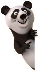 Papier Peint - Fun panda