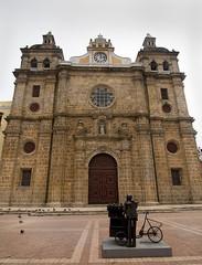 San Pedro Claver Cathedral at Cartagena de Indias, Colombia