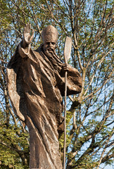 Statue of St. Adalbert, Mikolow, Poland