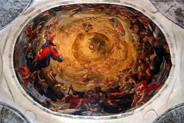 Coupole du transept, dôme de Pise