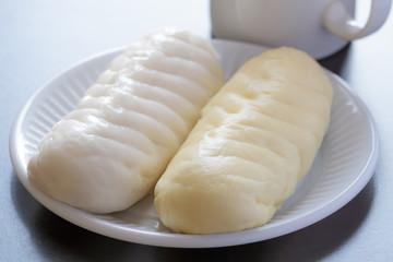 Steamed dumpling.