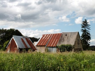 Abandoned French Barns