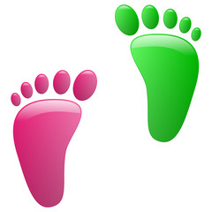 Children footprint