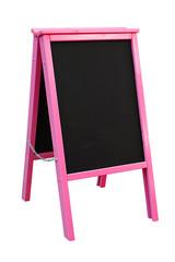 Pink chalkboard sandwich Board