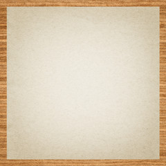 Seamless paper with wooden border