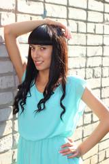 брюнетки с длинными волосами. фото
