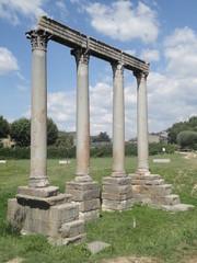 Roman columns in Riez