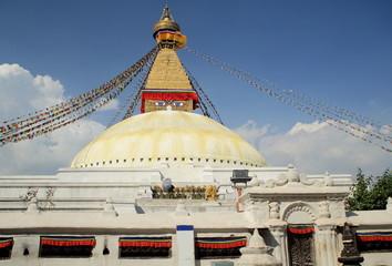 Great stupa of Boudhanath-Bodhnath. Kathmandu-Nepal. 0303