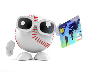 Baseball pays with plastic