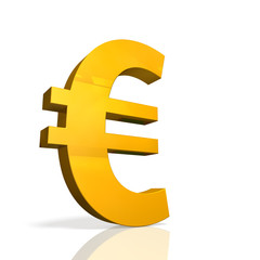 Icon of currency symbol of the Euro.