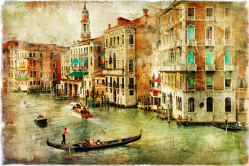 Venice -artwork in painting style