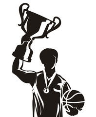 Basketball. Vector illustration