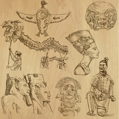 Native and Old Art around the World - 1
