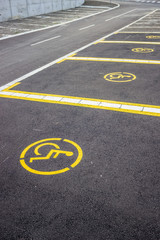 Wheelchair parking space 2