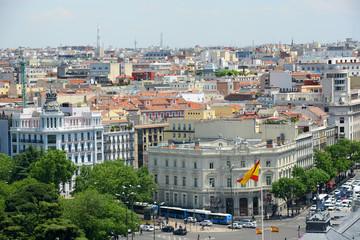 Palacio de Linares at Plaza de Cibeles in Madrid